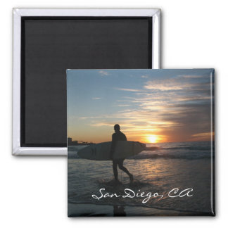 San Diego, CA Fridge Magnet