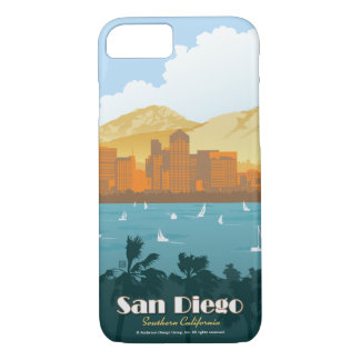 San Diego, CA iPhone 8/7 Case