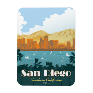 San Diego, CA Magnet