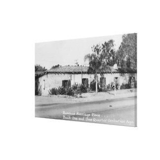 San Diego, CA Ramona's Marriage Place Photograph Canvas Prints