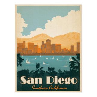 San Diego, CA Tarjeta Postal