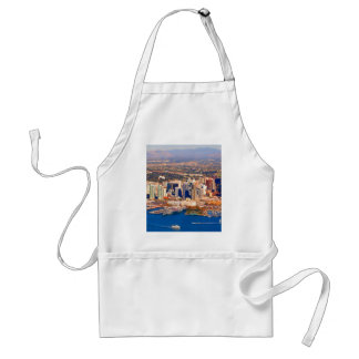 san diego california aerial view adult apron