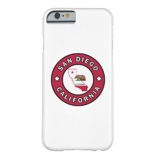 San Diego California Barely There iPhone 6 Case