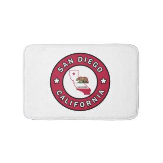 San Diego California Bath Mat