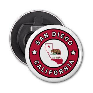 San Diego California Bottle Opener