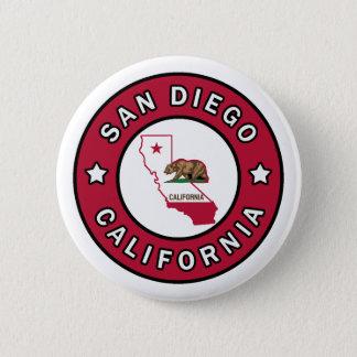 San Diego California Button