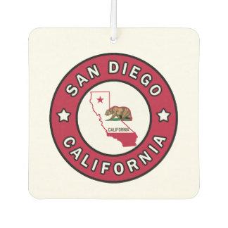 San Diego California Car Air Freshener