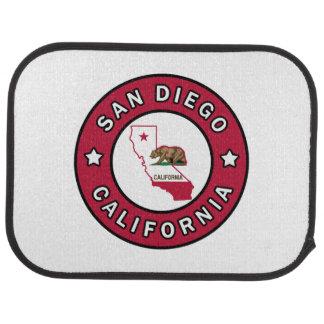 San Diego California Car Mat