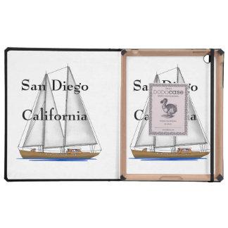San Diego California iPad Case