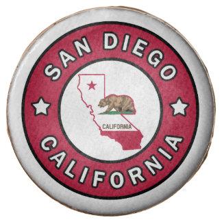 San Diego California Chocolate Dipped Oreo