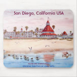 San Diego, California, CORONADO del HOTEL DEL Alfombrillas De Raton