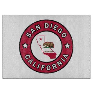 San Diego California Cutting Board
