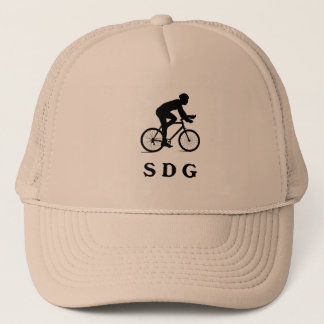 San Diego California Cycling Acronym SDG Trucker Hat
