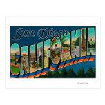 San Diego, California - escenas grandes 2 de la Postal