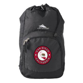 San Diego California High Sierra Backpack