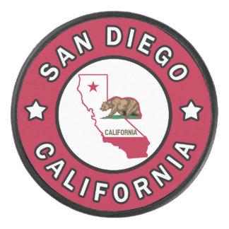 San Diego California Hockey Puck