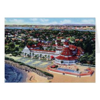 San Diego California Hotel Del Coronado Card