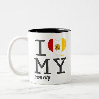 San Diego California I love my own city Two-Tone Coffee Mug