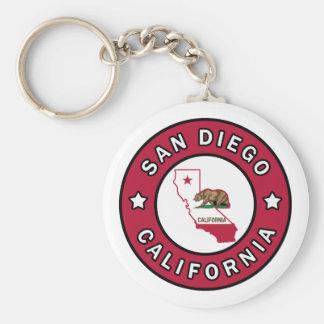 San Diego California Keychain