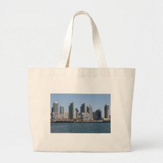 San Diego California Large Tote Bag