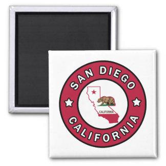 San Diego California Magnet