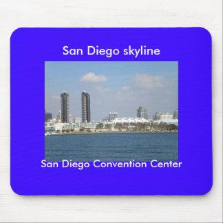 San Diego California Mouse Pad