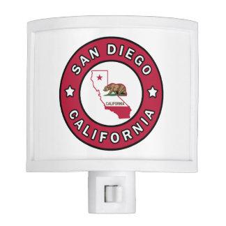 San Diego California Night Light