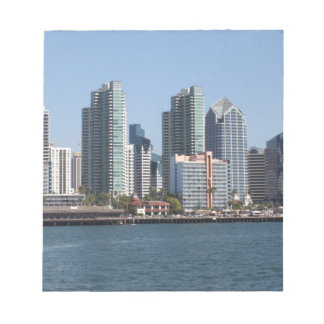 San Diego California Note Pad