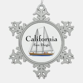 San Diego California Ornament
