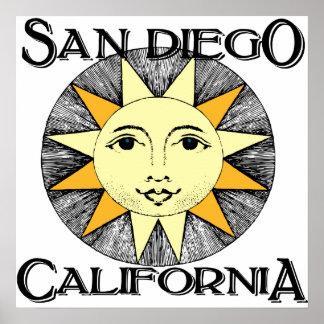 San Diego California Posters