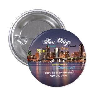 San Diego, California Pin
