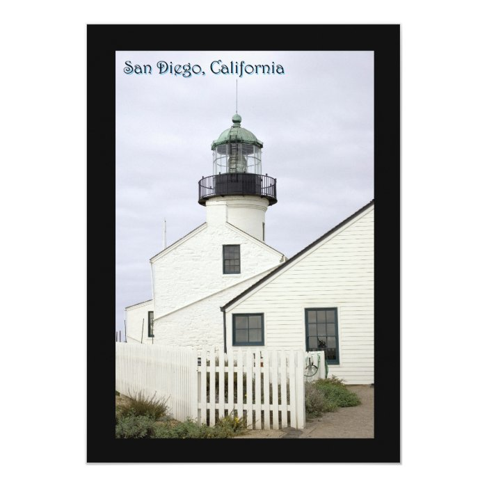 San Diego California Point Loma Card