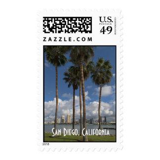 San Diego, California Postage