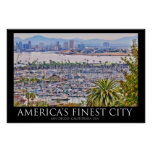 San Diego, California Poster