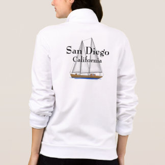 San Diego California Printed Jacket