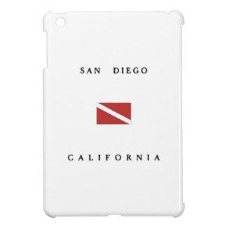 San Diego California Scuba Dive Flag iPad Mini Cases