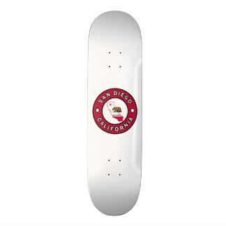 San Diego California Skateboard Deck