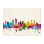 San Diego California Skyline Canvas Print
