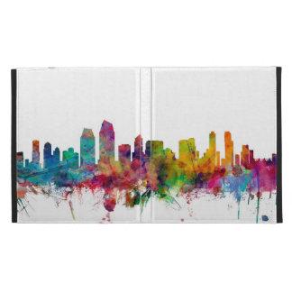 San Diego California Skyline iPad Cases