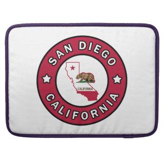 San Diego California Sleeve For MacBook Pro
