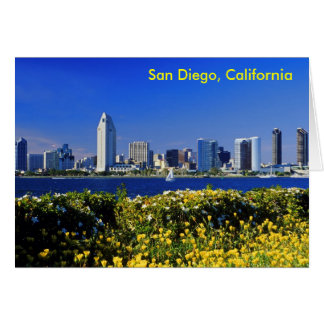 San Diego, California Stationery Note Card