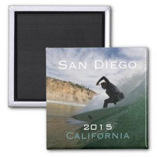 San Diego California Surfing Magnet Change Year