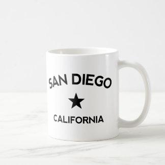 San Diego California Taza Básica Blanca