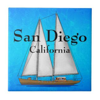 San Diego California Ceramic Tiles