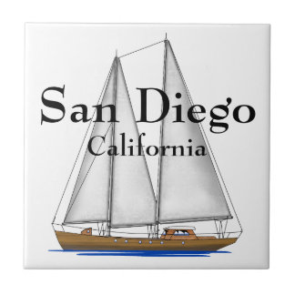 San Diego California Ceramic Tile