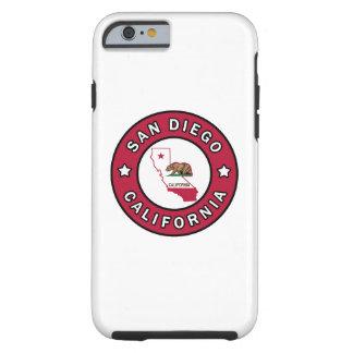 San Diego California Tough iPhone 6 Case