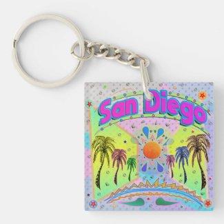 San Diego Calm Desire Keychain