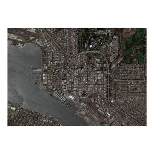 San Diego céntrica Póster