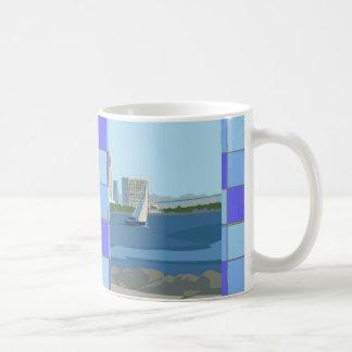 San Diego Checkered Mug