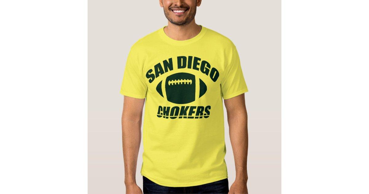 San diego chokers t shirt zazzle for Shirt printing san diego